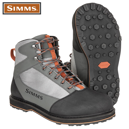 Botas De Vadeo Simms Tributary Striker Grey Goma 2021