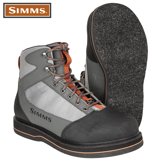 Botas De Vadeo Simms Tributary Striker Grey Fieltro 2021