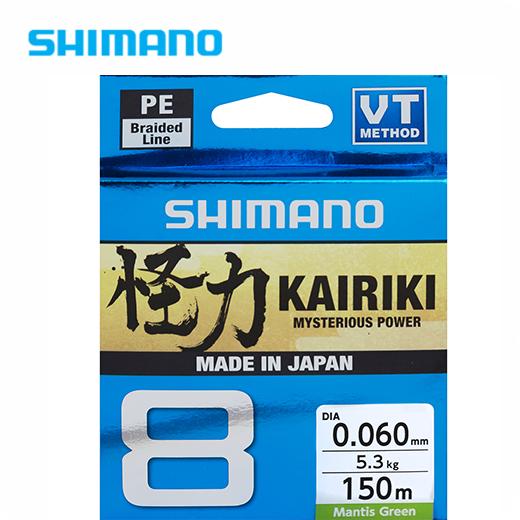 Trenzado Shimano Kairiki 8 Mantis Green 300 M