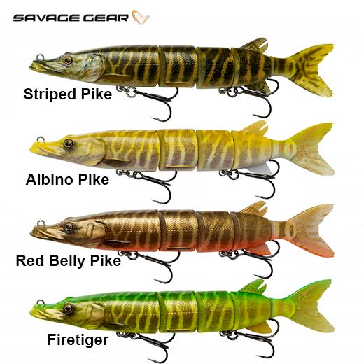 Señuelo Savage Gear 3D Hard Pike 26 Cm - Slow Sinking