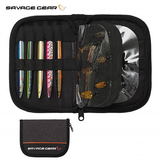 Bolsa Organizador Señuelos Savage Gear Zipper Wallet1 Holds & Foam
