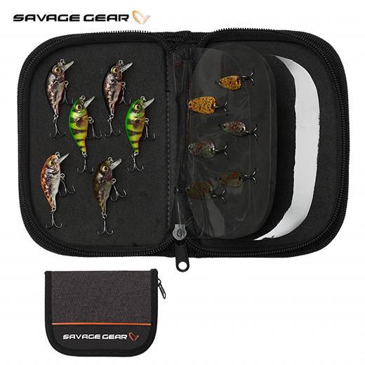 Bolsa Organizador Señuelos Savage Gear Zipper Wallet2 All Foam