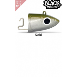 Off Shore Jighead Fiiish Black Minnow Talla 6