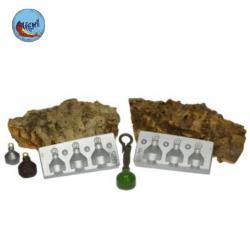molde plomo trasero carpfishing