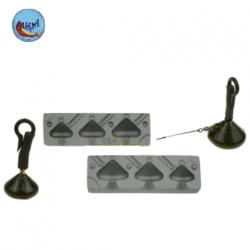 molde plomo trasero carpfishing m025