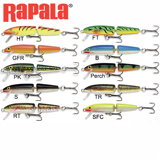 Señuelo Rapala Jointed Floating 9 Cm
