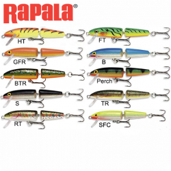 Señuelo Rapala Jointed Floating 7 Cm