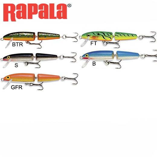 Señuelo Rapala Jointed Floating 5 Cm