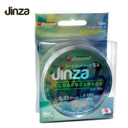 Fluorocarbono 100% Jinza