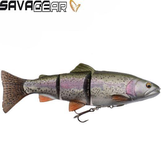 Vinilo Savage Gear 4D Trout Line Thru Swim Bait Rainbow Trout