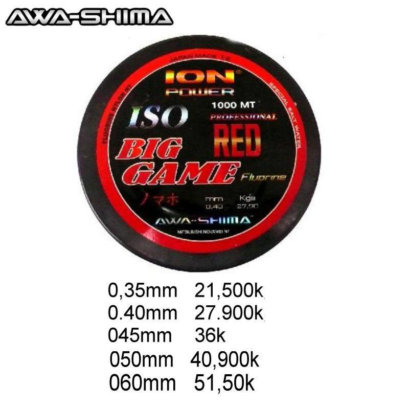 Hilo Awa Shima Ion Power Big Game Rojo