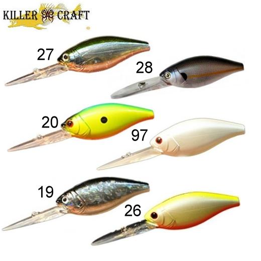 Señuelo Killer Craft Deep Monster 600