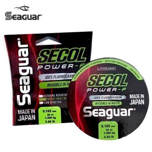 Fluorocarbono Seaguar Secol Power-F