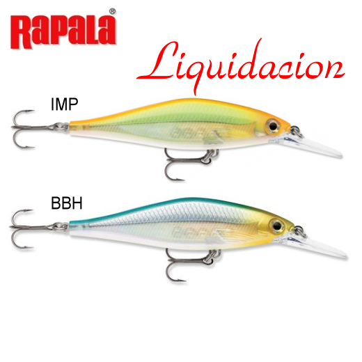 Señuelo Rapala Shadow Rap Shad Deep
