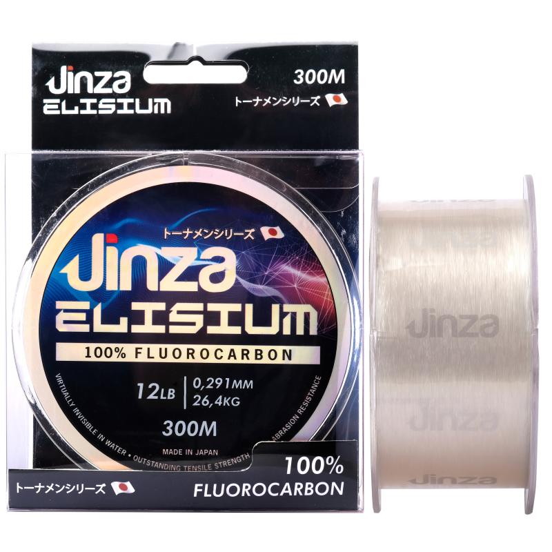 Fluorocarbono 100% Jinza Elisium