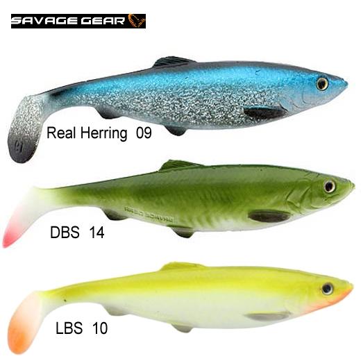 Vinilo Savage Gear 3D LB Herring Shad 160