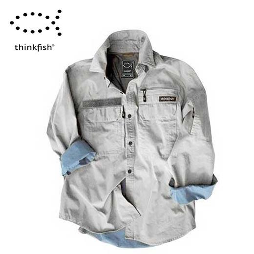 Camisa Thinkfish Competicion Kaki