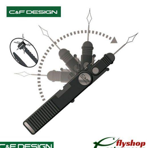 Enhebrador C&F 3 En 1 Clipper - CFA-42
