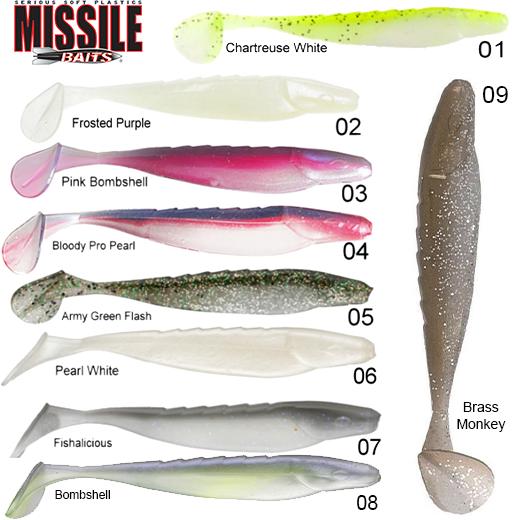 Vinilo Missile Baits Shockwave 4.25